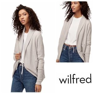 Wilfred Diderot Cream Cocoon Sweater XS